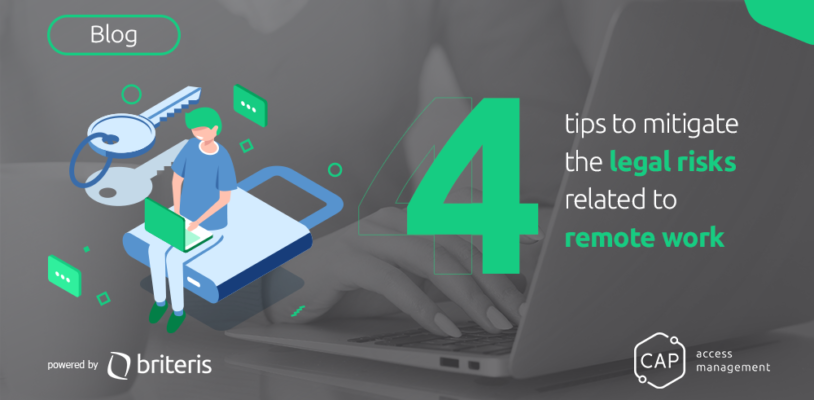 4 tips to mitigate the legal risks related to remote work