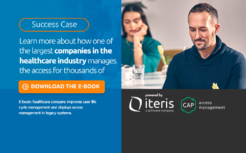 Learn more about how of the largest companies in the healthcare industry manages the access for thousands of users