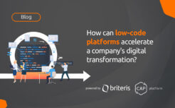 How can low-code platforms accelerate a company's digital transformation?